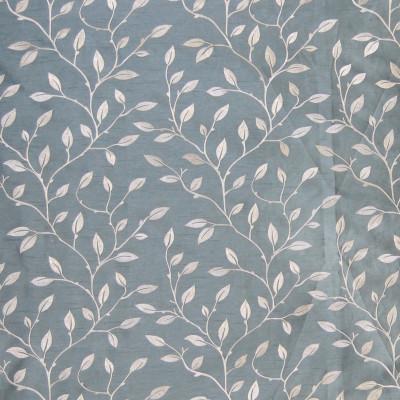A7910 Delft Fabric: C27, VINE, LEAF, SILK LOOK, DELFT BLUE,FOLIAGE