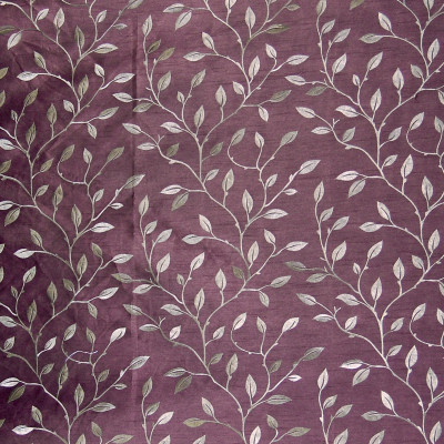 A7929 Plum Fabric: C27, LEAF, VINE, GRAPHITE