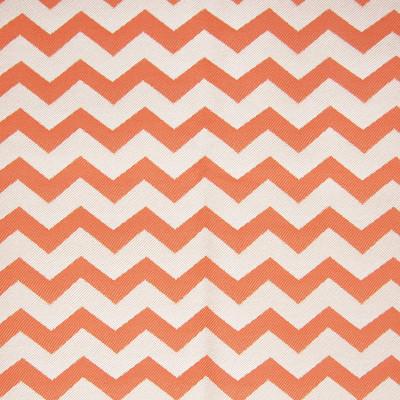 A8034 Mandarin Fabric: D79, C30, OUTDOOR, OUTDOOR FABRICS, MANDARIN, ORANGE CHEVRON, ORANGE GEOMETRIC, TANGERINE CHEVRON