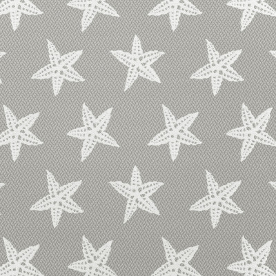 A8053 Smoke Fabric: D79, C30, OUTDOOR, OUTDOOR FABRICS, SMOKE, STARFISH, SEASCAPE, NOVELTY STARFISH