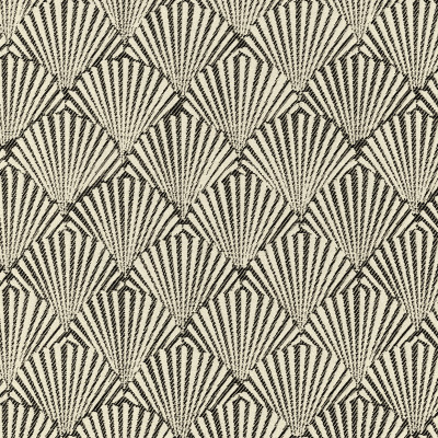 A8054 Ebony Fabric: D79, C30, OUTDOOR, OUTDOOR FABRICS, EBONY, SEASHELLS, BEACH SEASHELLS