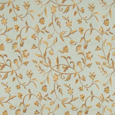 A8115 Spa Fabric: D50, C32, FLORAL, VINE, LIGHT BLUE,FOLIAGE