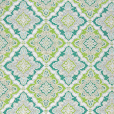A8485 Teal Fabric: C43, DIAMOND, GREEN, TURQUOISE, GEOMETRIC