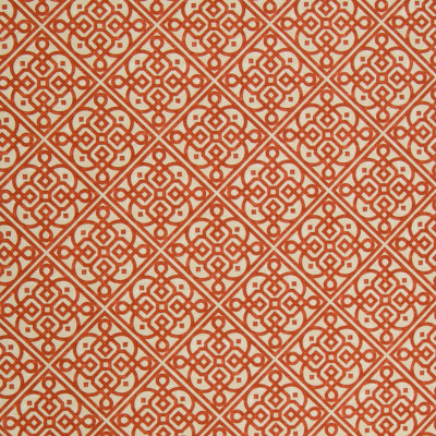A8548 Persimmon Fabric: C44, ORANGE, MEDALLION, COTTON, PRINT, GEOMETRIC, ORANGE MEDALLION, ORANGE COTTON, ORANGE PRINT, ORANGE GEOMETRIC, COTTON MEDALLION, COTTON PRINT, COTTON GEOMETRIC, GEOMETRIC PRINT, WAVERLY