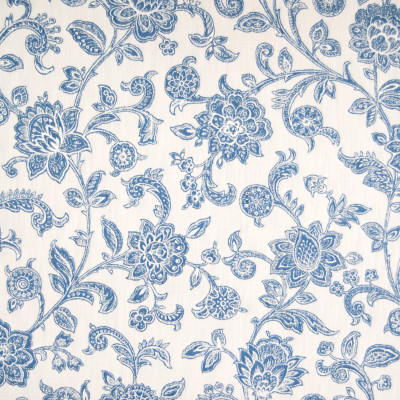 A8610 Chamois Fabric: E32, D47, D15, C46, FLORAL, JACOBEAN, BLUE, WHITE, BLUE WOVEN FLORAL, BLUE FLORAL, SKY BLUE FLORAL