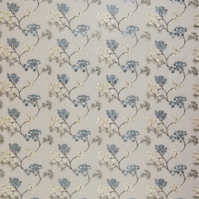A8631 Haze Fabric: C99, C46, DOGWOOD, DOGWOOD BLOSSOMS, EMBROIDERY, FLORAL EMBROIDERY, TAUPE, BLUE