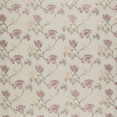 A8716 Sachet Fabric: C48, MAUVE, NEUTRAL, ASIAN FLORAL, CHERRY BLOSSOM, EMBROIDERY
