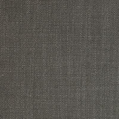 A9192 Steel Fabric: E79, C57, GRAY, GREY, STEEL, FAUX LINEN, LINEN BLEND, SOLID, WOVEN