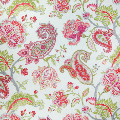 A9684 Spring Fabric: FLORAL, LINEN, RED, PRINT, PAISLEY, PINK, RED LINEN, LINEN PRINT, LINEN PAISLEY, PINK LINEN, RED PRINT, RED PAISLEY, PINK PRINT, PINK PAISLEY, PRINTED PAISLEY, PINK AND GREEN, FLORAL PRINT