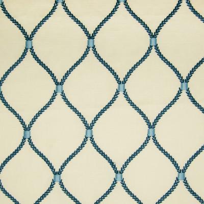 A9731 Porcelain Fabric: S41, D17, C72, ANNA ELISABETH, OGEE, OGEE EMBROIDERY, EMBROIDERY, MEDALLION, MEDALLION EMBROIDERY, WINDOW