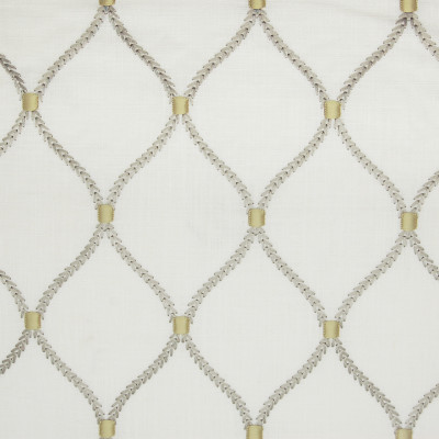 A9780 Smoke Fabric: S39, D17, C72, ANNA ELISABETH, OGEE, NEUTRAL OGEE, OGEE EMBROIDERY, EMBROIDERY, NEUTRAL, MEDALLION, MEDALLION EMBROIDERY, NEUTRAL MEDALLION, LATTICE, LATTICE EMBROIDERY, WINDOW, NEUTRAL EMBROIDERY, OFF WHITE LINEN, OFF WHITE EMBROIDERY, TAUPE EMBROIDERY, GOLD EMBROIDERY