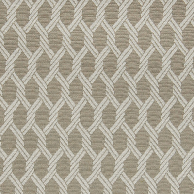 A9791 Zinc Fabric: C93, C72, GRAY BACKGROUND, SILVER, WOVEN ROPE, ROPE LIKE, WHITE, NAUTICAL ROPE, STONE LATTICE, TAUPE GEOMETRIC, GRAY MEDALLION, NAUTICAL
