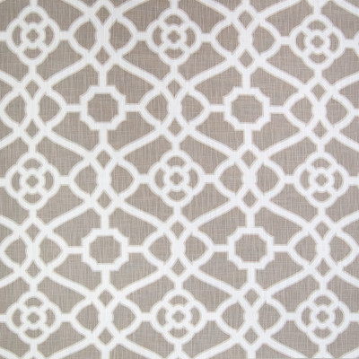 B1802 Dove Fabric: NEUTRAL GEOMETRIC, NEUTRAL MEDALLION, NEUTRAL COTTON MEDALLION, KHAKI MEDALLION,LATTICE