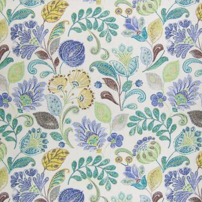 B2051 Island Fabric: D65, COTTON FLORAL, BLUE FLORAL, CONTEMPORARY FLORAL, FLORAL PRINT, BLUE COTTON, CONTEMPORARY COTTON, COTTON PRINT, BLUE CONTEMPORARY, BLUE PRINT, CONTEMPORARY PRINT