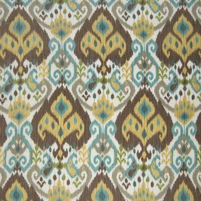 B2067 Island Fabric: D01, BLUE IKAT, TEAL IKAT, BROWN IKAT, BLUE IKAT PRINT, TEAL IKAT PRINT, CHOCOLATE IKAT,,SOUTHWEST
