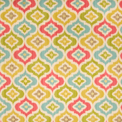 B2078 Golden Fabric: C96, PINK OGEE PRINT, GREEN METALLIC OGEE PRINT, TEAL OGEE METALLIC PRINT, YELLOW METALLIC OGEE PRINT, WAVERLY