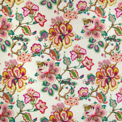 B2096 Sunset Fabric: C96, PINK FLORAL COTTON, PINK COTTON FLORAL, PINK LEMONADE COTTON FLORAL