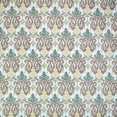 B2166 Moonstone Fabric: C97, CONTEMPORARY IKAT PRINT, TEAL COTTON IKAT PRINT, AQUAMARINE COTTON IKAT PRINT, AQUA COTTON IKAT PRINT,SOUTHWEST