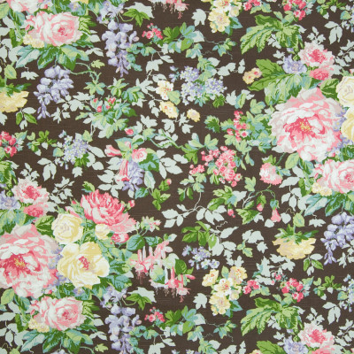 B2294 Ebony Fabric: D01, BROWN FLORAL, CHOCOLATE FLORAL, BROWN FLORAL PRINT, CHOCOLATE FLORAL PRINT,