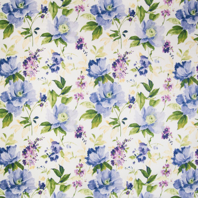 B2356 Periwinkle Fabric: D02, BLUE COTTON FLORAL, BLUE FLORAL, SAPPHIRE FLORAL, BLUE FLORAL PRINT