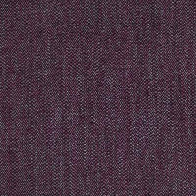 B2534 Aubergine Fabric: D05, EGGPLANT HERRINGBONE, PURPLE HERRINGBONE TEXTURE,WOVEN