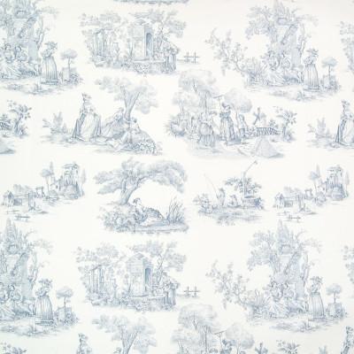 B2603 Bluebell Fabric: D07, NAVY BLUE COTTON TOILE, ROYAL BLUE COTTON TOILE, MEDIUM BLUE COTTON TOILE, BLUE SCENE,