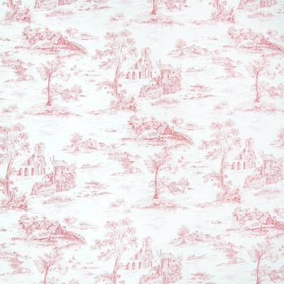 B2629 Poppy Fabric: D07, RED TOILE, RED COTTON TOILE