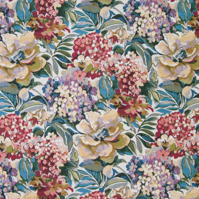 B2717 Cream Fabric: RED FLOWERS, RED FLORAL TAPESTRY, PURPLE FLOWERS, PURPLE FLORAL TAPESTRY, HYDRANGEA TAPESTRY, HYDRANGEAS