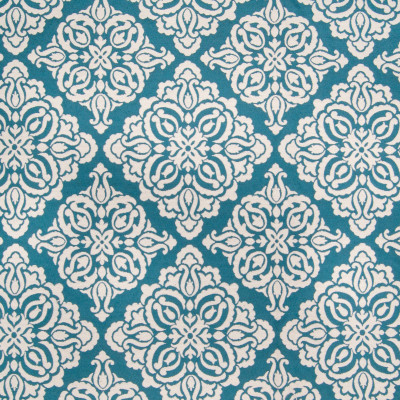 B2733 Ocean Fabric: D95, D10, TEAL MEDALLION, WHITE AND TEAL MEDALLION, WHITE AND TEAL FLORAL