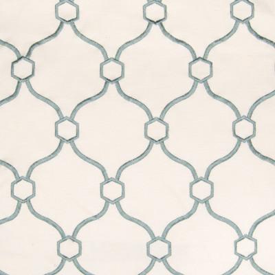 B2759 Spa Fabric: E09, D10, BLUE MEDALLION EMBROIDERY, TEAL EMBROIDERY, TURQUOISE MEDALLION EMBROIDERY