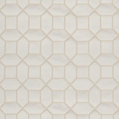 B3114 Linen Fabric: D16, GEOMETRIC DAMASK, MEDALLION DAMASK, OCTAGON DAMASK, TONE ON TONE,WOVEN
