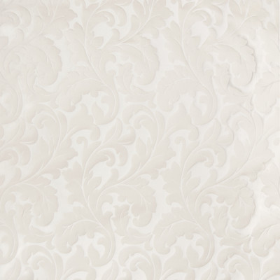 B3115 Champagne Fabric: D16, IVORY LEAF DAMASK, IVORY FOLIAGE DAMASK, OFF WHITE LEAF DAMASK, WHITE LEAF DAMASK, TONE ON TONE,WOVEN