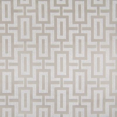 B3129 Linen Fabric: D16, NEUTRAL DAMASK, GEOMETRIC DAMASK, TONE ON TONE,WOVEN