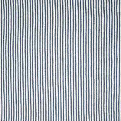 B3164 Navy Fabric: D17, COTTON STRIPE, BLUE STRIPE, BLUE COTTON, WOVEN STRIPE, COTTON WOVEN, BLUE WOVEN, TICKING, WOVEN TICKING, BLUE TICKING