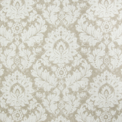 B3271 Jute Fabric: D18, BEIGE FLORAL PRINT, NEUTRAL FLORAL PRINT, LEAF PRINT,FOLIAGE