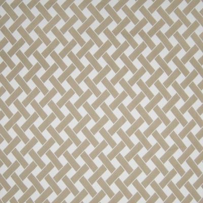 B3275 Pebble Fabric: D18, BEIGE GEOMETRIC, BEIGE WOVEN GEOMETRIC,LATTICE