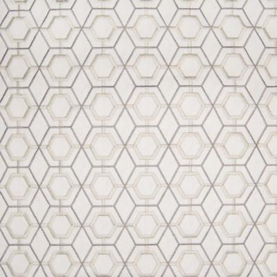 B3277 Oyster Fabric: D18, NEUTRAL GEOMETRIC, BEIGE GEOMETRIC, SILVER GEOMETRIC, GRAY GEOMETRIC,LATTICE