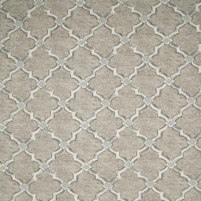 B3285 Aspen Fabric: D18, TAUPE GEOMETRIC PRINT, NEUTRAL GEOMETRIC PRINT,LATTICE
