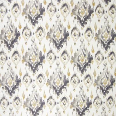 B3295 Titanium Fabric: D18, GRAY IKAT, GREY IKAT, CHARCOAL IKAT PRINT