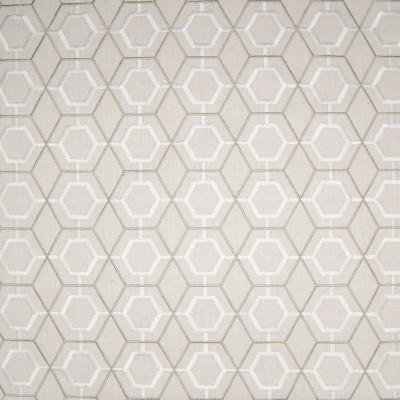 B3299 Birch Fabric: D18, GEOMETRIC EMBROIDERY, LATTICE EMBROIDERY