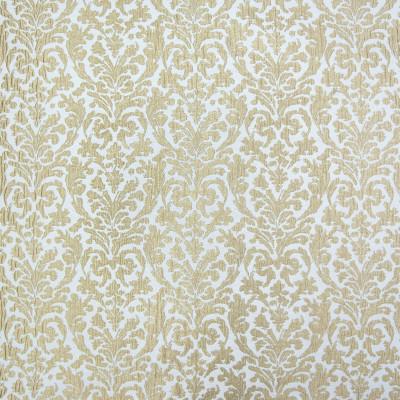 B3306 Foil Fabric: D18, GOLD METALLIC MEDALLION, ANTIQUE METALLIC MEDALLION