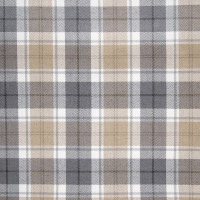 B3315 Platinum Fabric: D18, BROWN AND GRAY PLAID, BROWN AND GREY PLAID, BROWN PLAID, NEUTRAL PLAID, BEIGE PLAID,,WOVEN