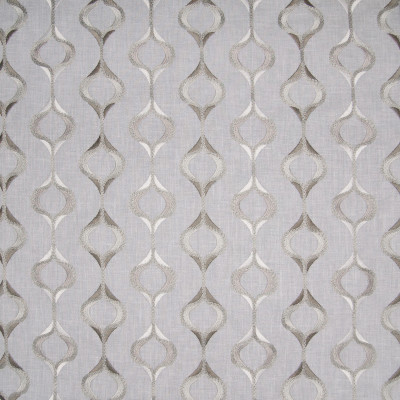 B3317 Cloud Fabric: D18, GRAY MEDALLION EMBROIDERY, SILVER MEDALLION EMBROIDERY