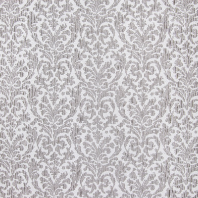 B3318 Zinc Fabric: D18, SILVER METALLIC MEDALLION, GRAY METALLIC MEDALLION