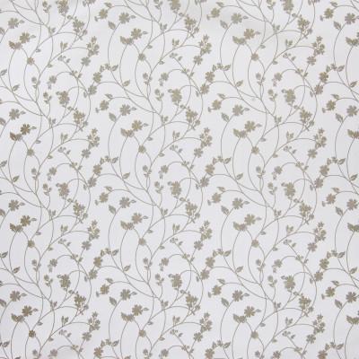 B3323 Zinc Fabric: D18, GRAY FLORAL, GREY FLORAL, LIGHT SILVER FLORAL