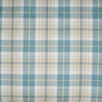 B3334 Bluejay Fabric: D18, BLUE PLAID, BLUE AND BEIGE PLAID, BLUE AND KHAKI PLAID,WOVEN