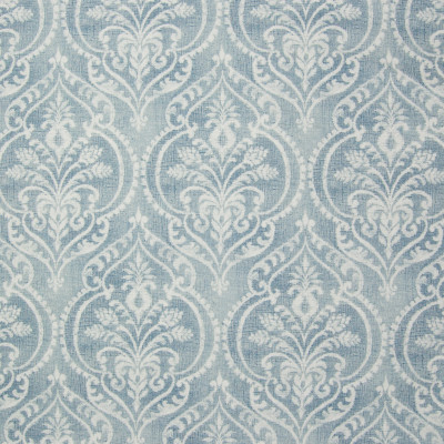 B3336 Chambray Fabric: D18, BLUE MEDALLION PRINT, BLUE SCROLL PRINT, BLUE PRINT, BLUE FLORAL PRINT