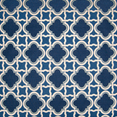B3344 Navy Fabric: D18, MEDALLION PRINT, BLUE MEDALLION PRINT, BLUE GEOMETRIC PRINT, NAVY LATTICE PRINT, NAVY GEOMETRIC PRINT