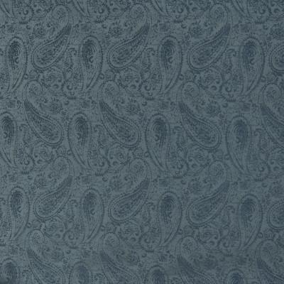 B3348 Harbor Fabric: D18, BLUE PAISLEY, MEDIUM BLUE PAISLEY, SOLID BLUE PAISLEY