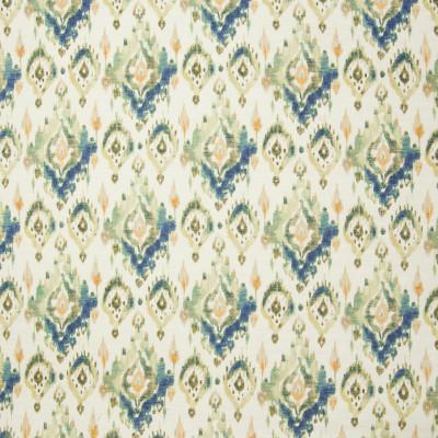 B3353 Bay Water Fabric: D18, BLUE IKAT, NAVY IKAT, TEAL IKAT